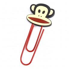 원숭이 고무클립 책갈피
