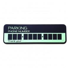 주차번호판 parking