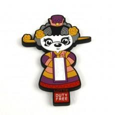 냉장고자석 LOTTE 중국관광기념
